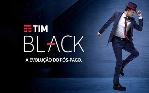 TIM Black tem novas ofertas e pagamento via cartão de crédito