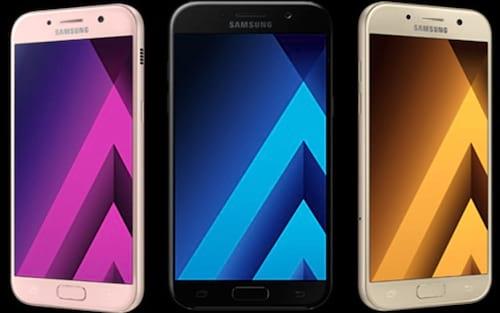 Samsung lança Galaxy A5 e A7 2017 de 64GB no Brasil