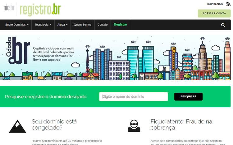 Novas regras para o domínios .br entram em vigor a partir de Setembro