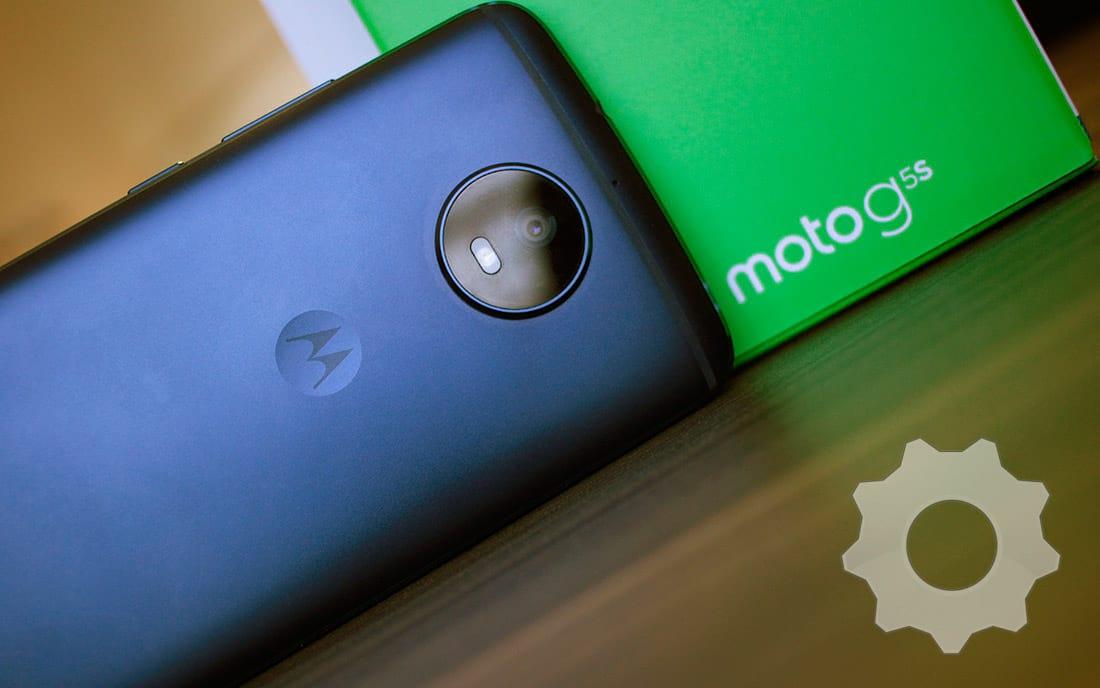 Moto G5S azul safira