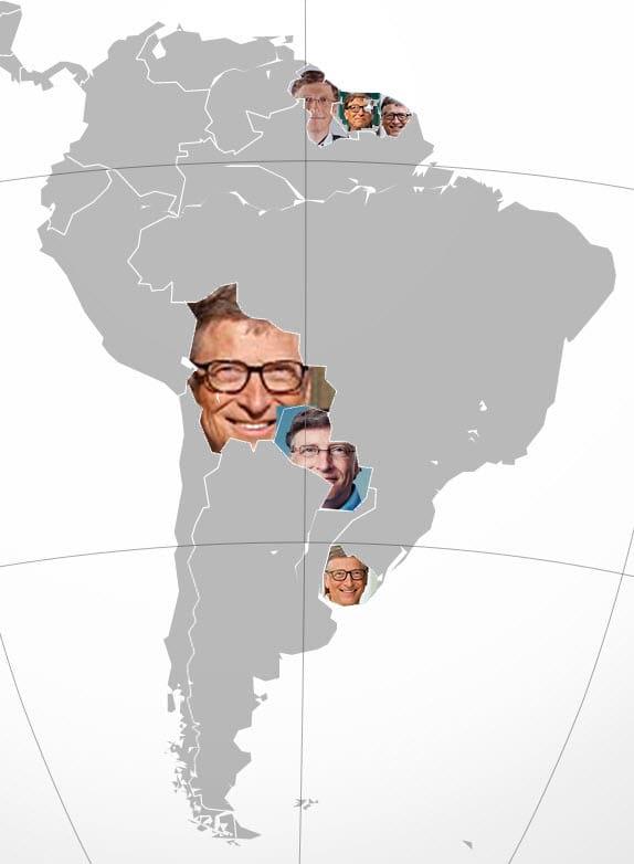 Bill Gates do sul