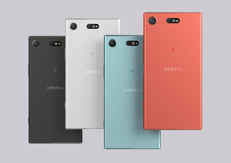Quatro opções de cores