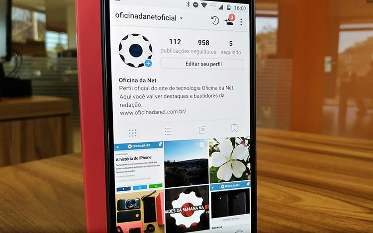 App do Instagram aciona hackers