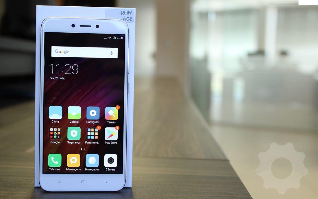 Xiaomi Mi 4X - face frontal
