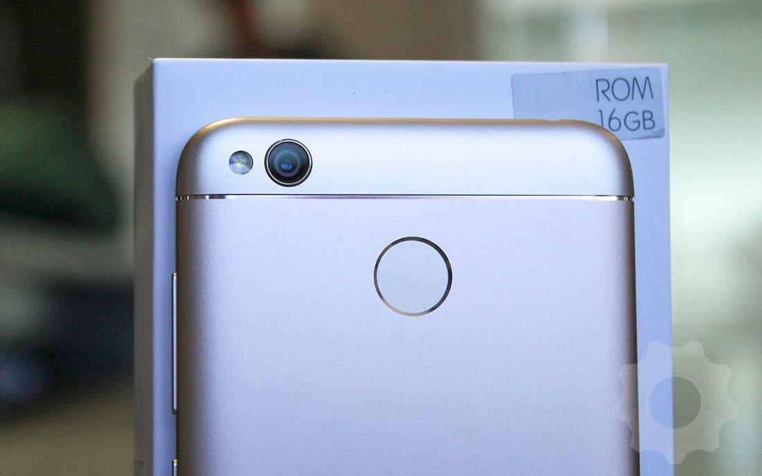Xiaomi Mi 4X - Sensor de impressões e câmera com flash