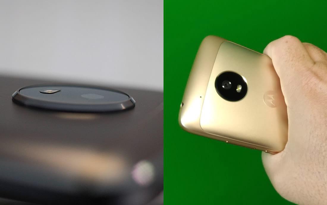 Diferenças nas câmeras entre o Moto G5 e Moto G5S