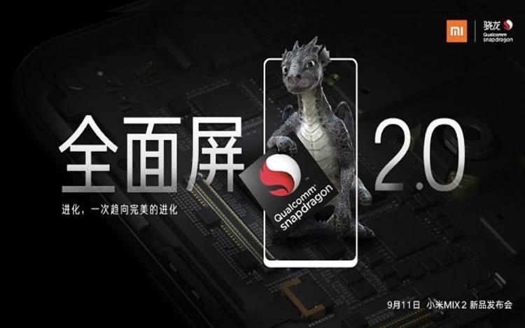 Novo smartphone  chega com Snapdragom 835 no dia 11 de setembro