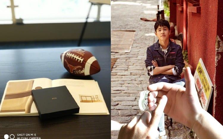Imagens divulgadas pelo CEO da Xiaomi na rede social Weibo
