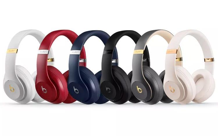 Novos fones Beats Studio3 Wireless contam com a tecnologia Beats Pure ANC para ruídos
