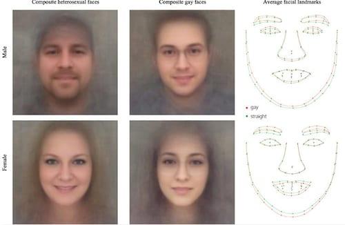 Através de uma foto IA vai identificar se você é gay ou não