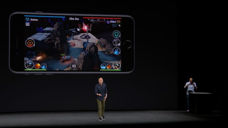 iPhone 8 realidade aumentada