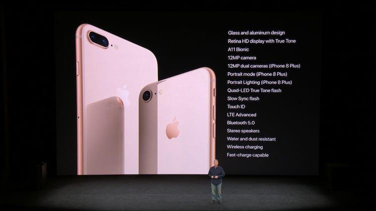 iPhone 8 especificações