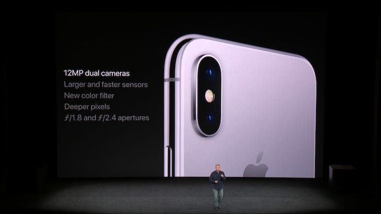 iPhone X câmeras