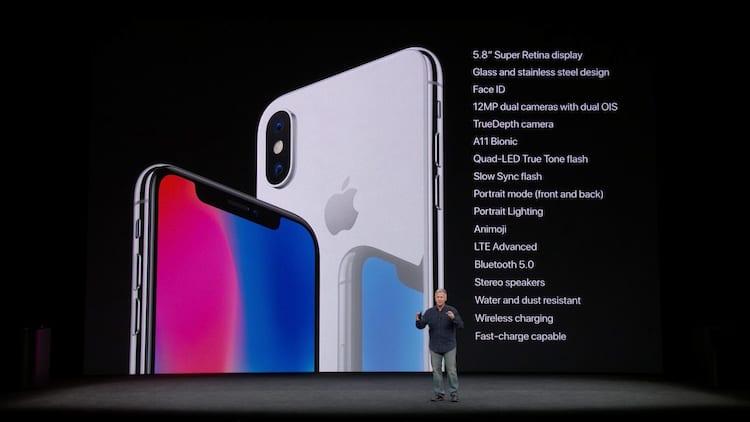 iPhone X Especificações