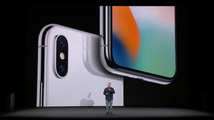 iPhone X chegou