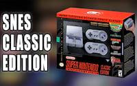 SNES Classic chega no Brasil dia 20 de outubro
