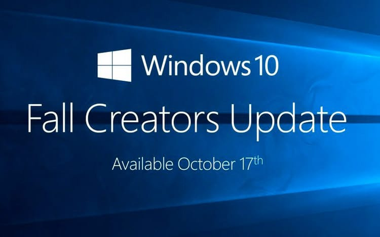 Windows 10 update de outono