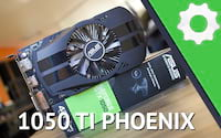 Review ASUS Phoenix GTX 1050TI