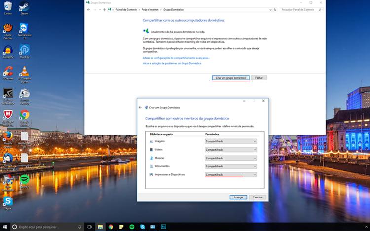 [Software]Grupo doméstico no windows 10 Selecionar_esp