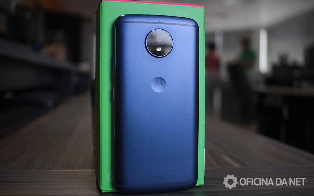 Motorola Moto G5S - face traseira