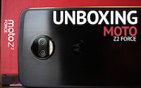 Unboxing Moto Z2 Force