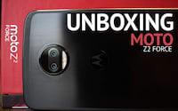 Unboxing Moto Z2 Force