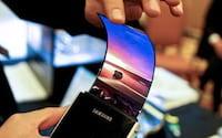 Samsung poderá lançar smartphone com tela dobrável