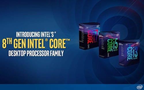 Intel anuncia novos processadores de 8ª geração para desktops