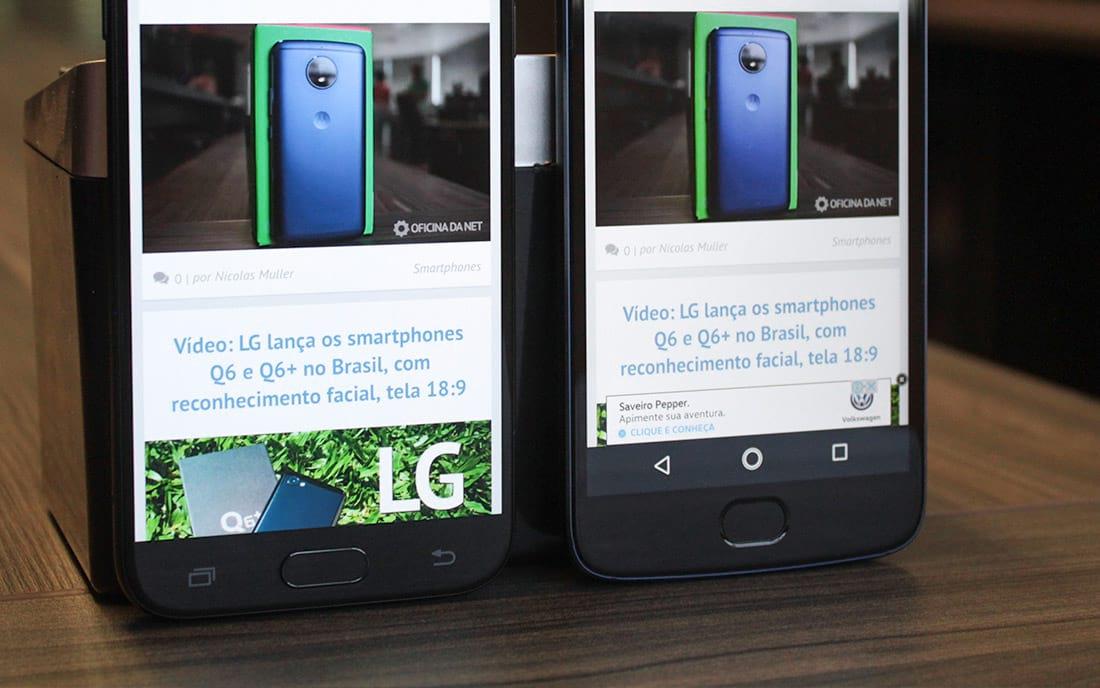 Comparativo J5 Pro vs Moto G5S