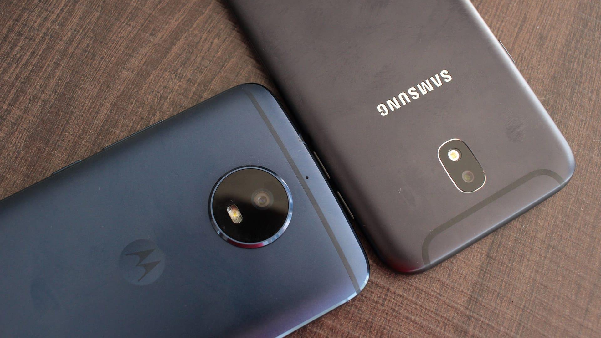Comparativo entre o Moto G5S e Galaxy J5 Pro