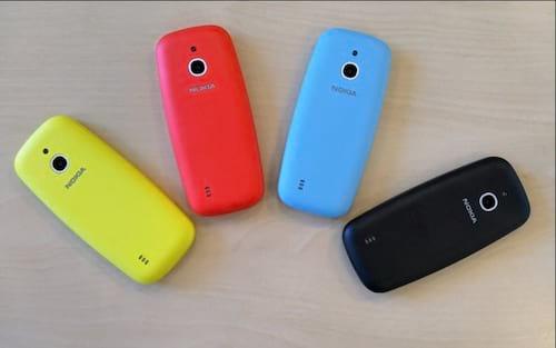 Nokia 3310 chegará com novas cores e suporte a rede 3G