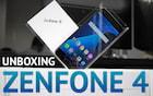 Unboxing Zenfone 4: uma experiência incrível