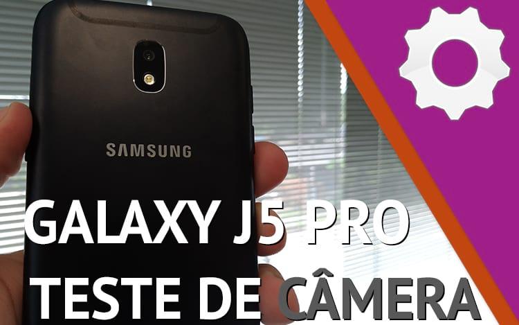 Teste de câmera do Galaxy J5 Pro