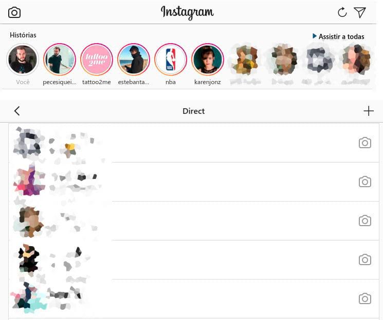como responder directs no instagram pelo pc