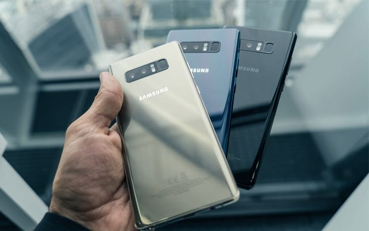 Samsung lança Galaxy Note 8 no Brasil a partir de R$ 4.399,00