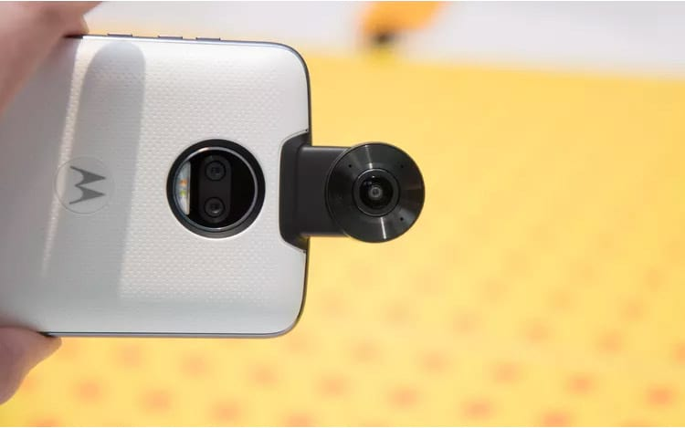 Sistema de câmeras duplas de 13 megapixels