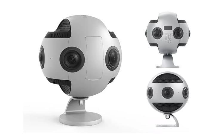 Câmera Insta360 Pro faz captura de imagens em 360° para o Google Street View