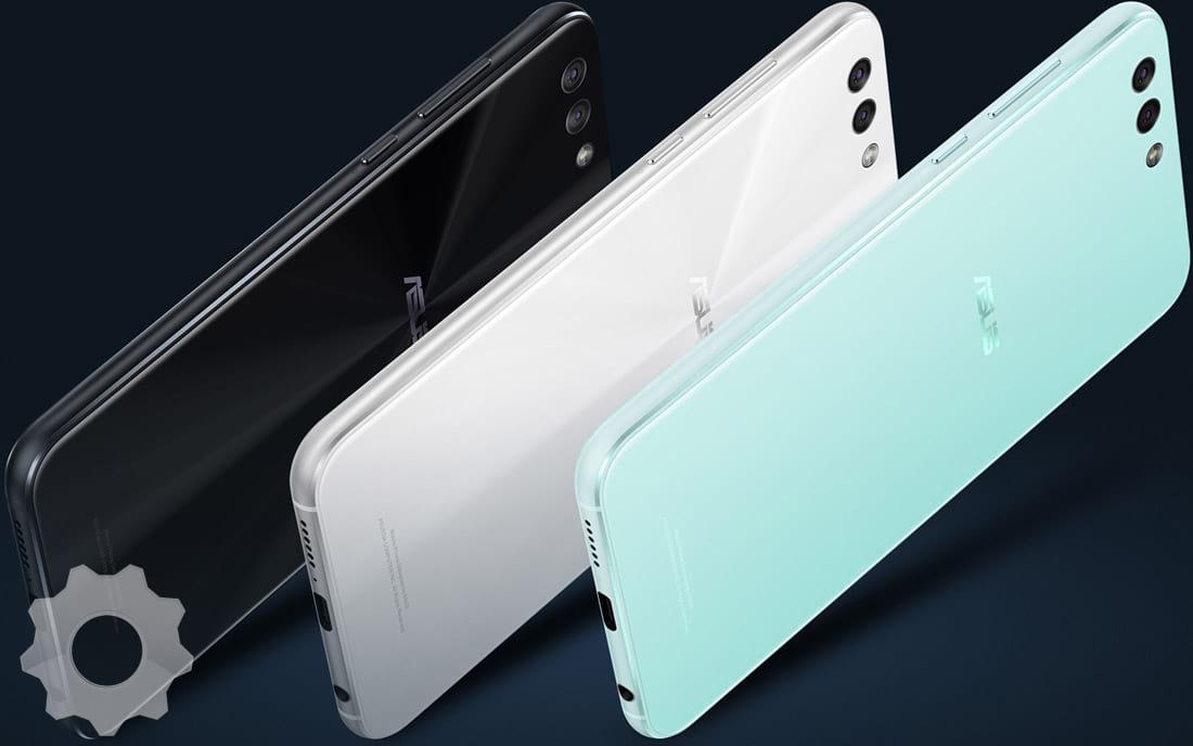 Zenfone 4 - cores do aparelho