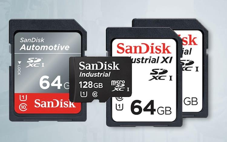 SanDisk anuncia cartões SD que suportam extremas temperaturas.