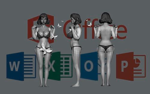 Como inserir e trabalhar com modelos 3D no Excel, Word e Powerpoint