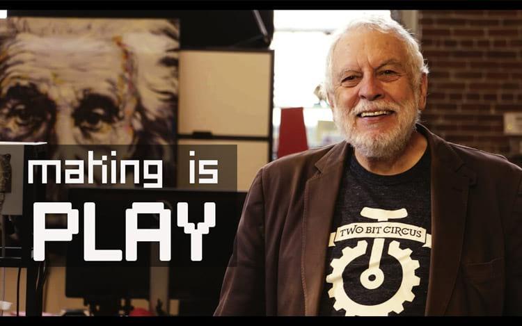 Nolan Bushnell fundador da Atari