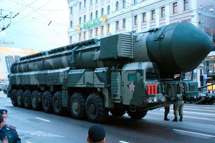 Míssil balístico intercontinental russo