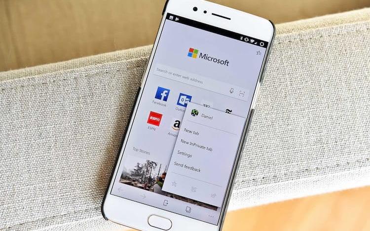 Usuários do Android contam agora com o Microsoft Edge