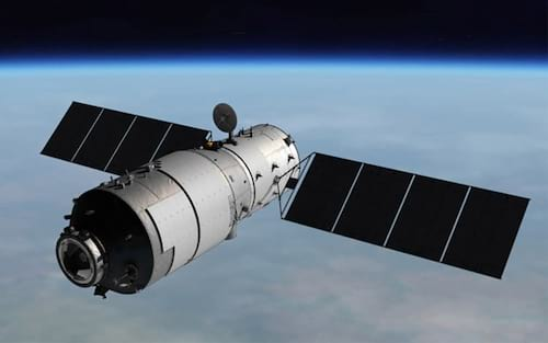 Estação espacial chinesa descontrolada cairá na Terra em breve