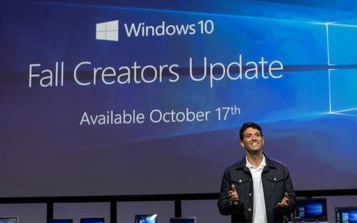 Atualização Fall Creators Update é liberada para o Windows 10