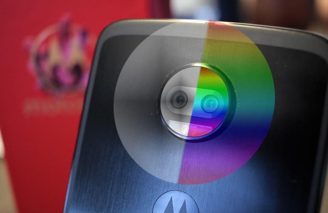 Um dos sensores faz fotos em preto e branco.