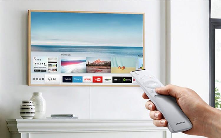 """A TV da Samsungvem com modo """"Arte"""""""