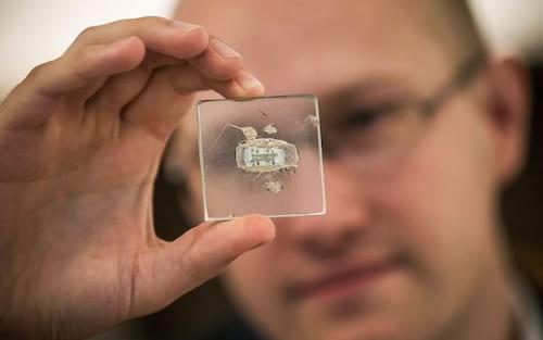 Primeiro microchip tem lance mínimo de US$ 600 mil em leilão