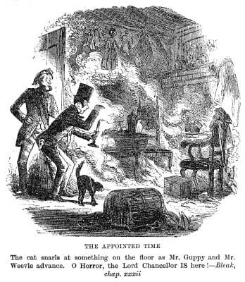 Ilustração original do romance de Dickens