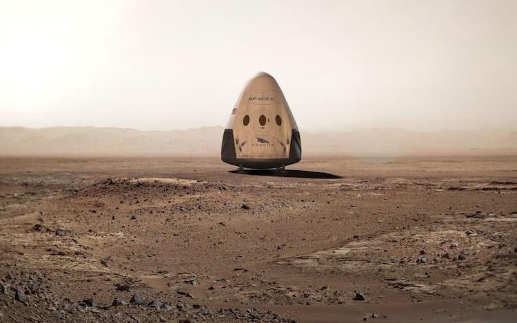 Space X revela novos detalhes sobre plano de colonização de Marte.